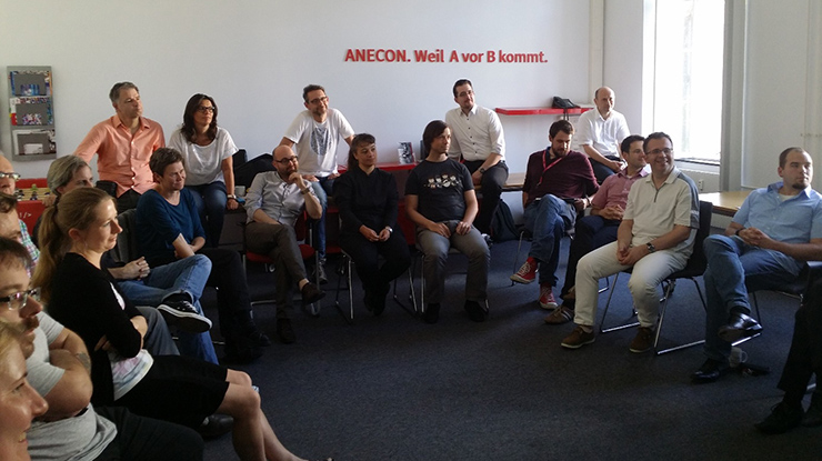 Community of Practice Agile: Die lernende agile Gemeinschaft bei ANECON